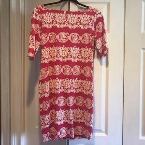 3/4 Sleeve Shift Dress